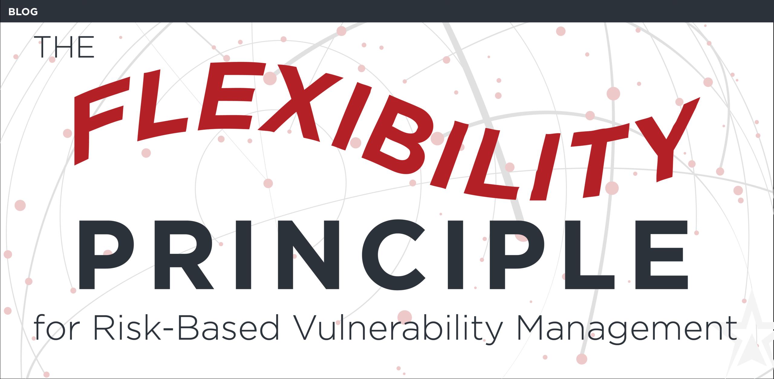 flexible vulnerability management solution